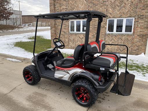 2013 Red, White & Black Custom Golf Car