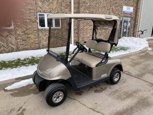 2014 EZGO Almond Golf Car