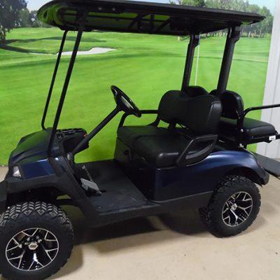 2010 Twilight Blue Golf Car