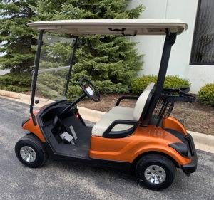 2009 Atomic Orange Golf Car