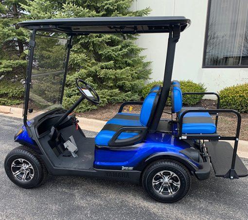 2105 Custom Blue Golf Car