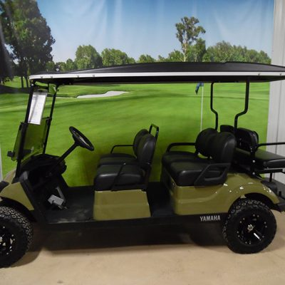 2017 Army Green 6-Passenger Golf Car