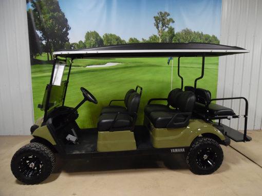 2017 Army Green 6-Passenger Golf Car