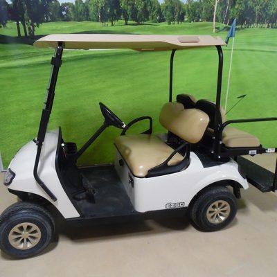 2018 EZGO White Golf Car