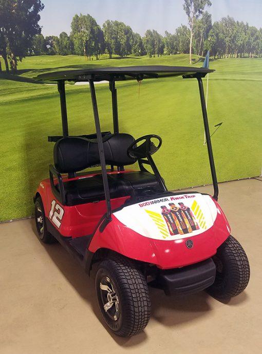 Custom Body Armor Golf Car