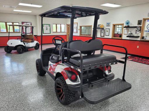 2007 American Flag Golf Car