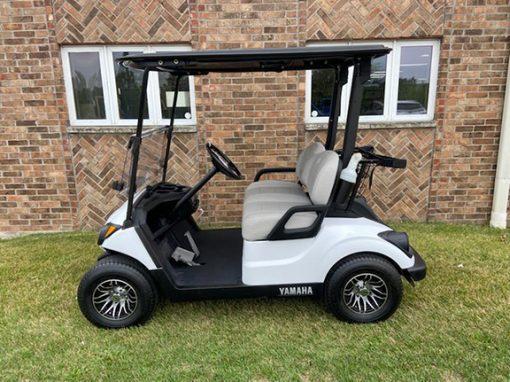 2017 Glacier White Golf Car