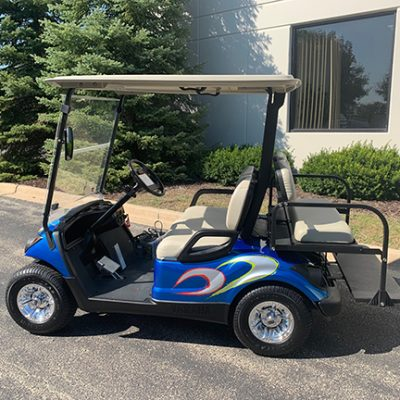 2016 Custom Blue Golf Car